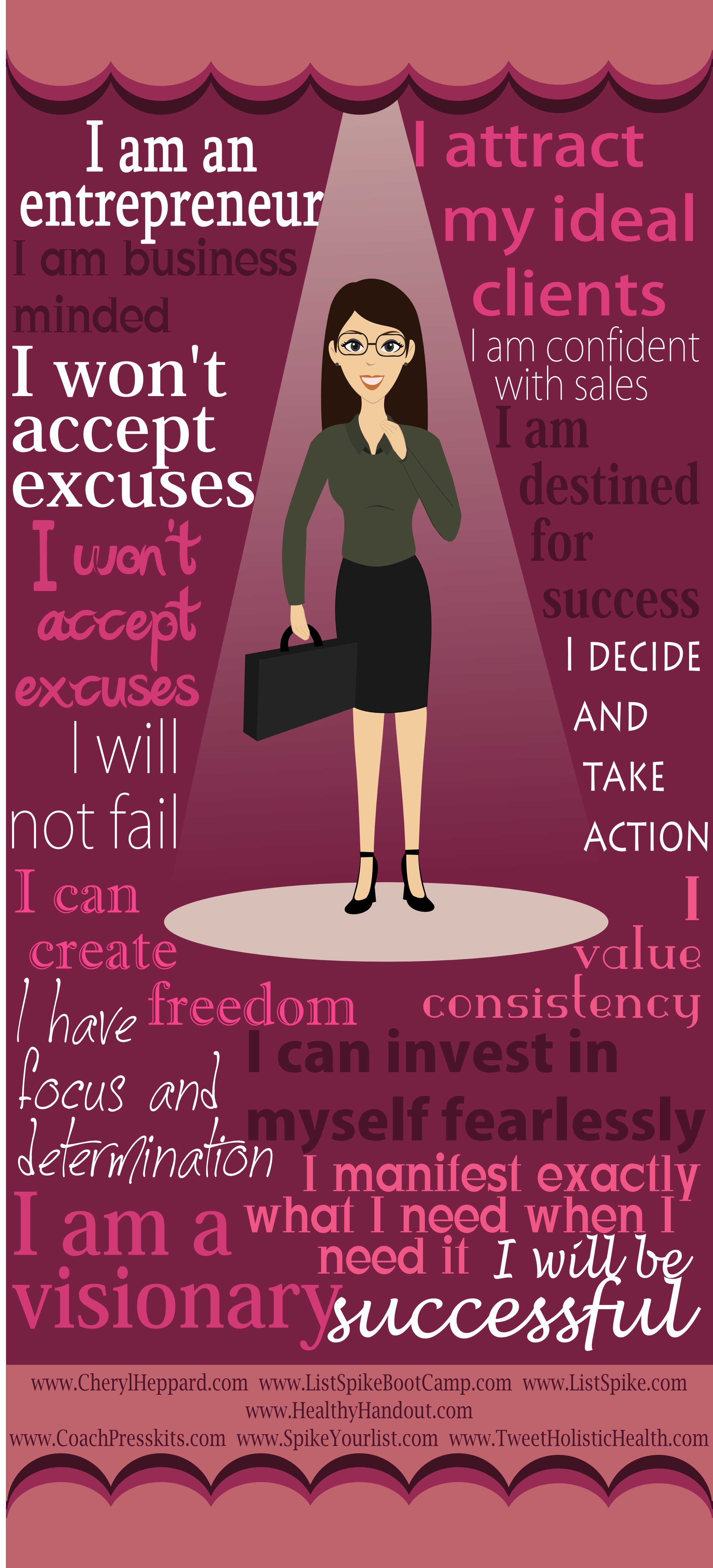 Success Quotes For Women Entrepreneur's Manifesto Infographic This Seems To Take Hill's