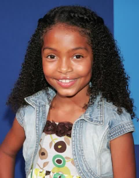 Black Peoples Hair Kids Girls For Girls Creative Loose