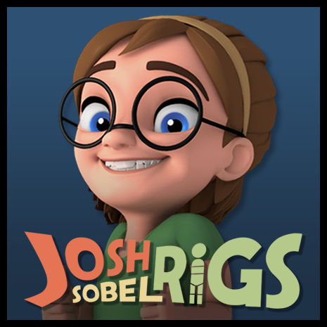 Female Chibi Lowpoly Character Base Mesh 3D Model Game