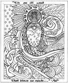 Find This Pin And More On Coloring Book Printable Therapeutic Pages