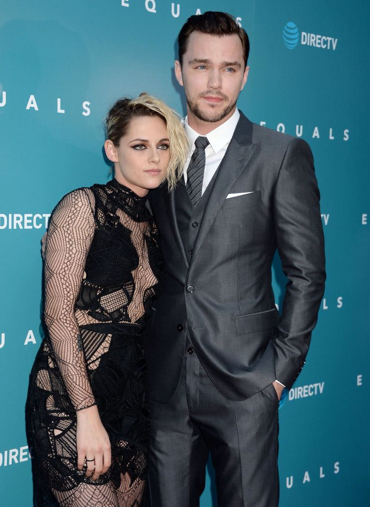 Kristen and Nicholas Hoult at the premiere of their film Equals