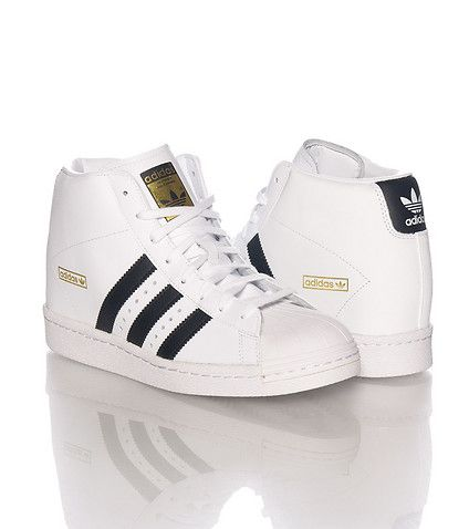 adidas WOMENS SUPERSTAR WEDGE SNEAKER White