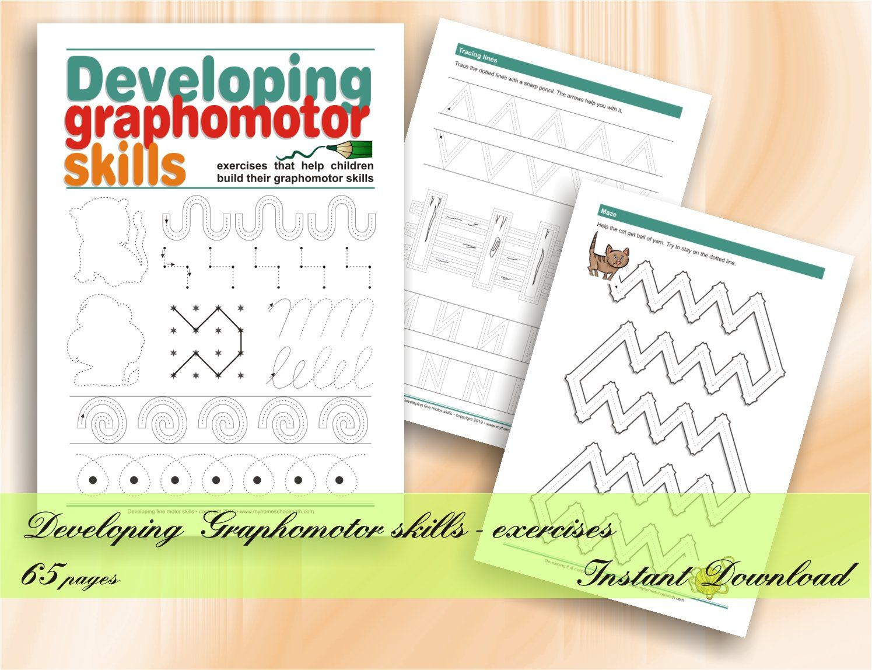 Developing Graphomotor Skills