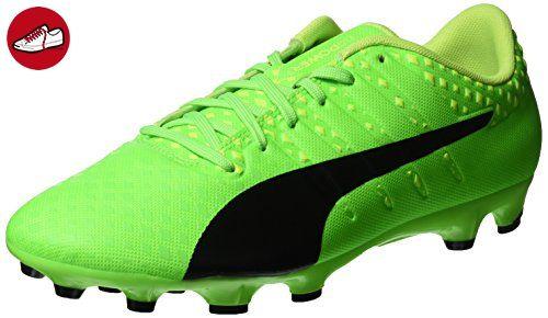new products 13c2e 143fb Puma Herren Evopower Vigor 3 AG Fußballschuhe, Grün (Green Gecko-Puma Black-