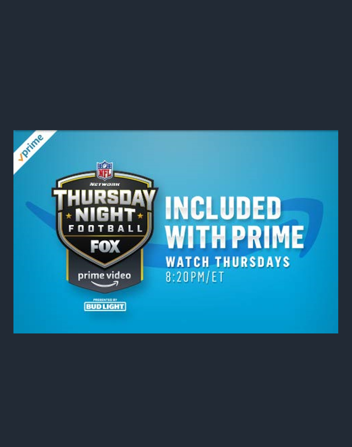 2019 Nfl Thursday Night Football Schedule On Prime Video Thursday Night Football Nfl Thursday Night Football Prime Video