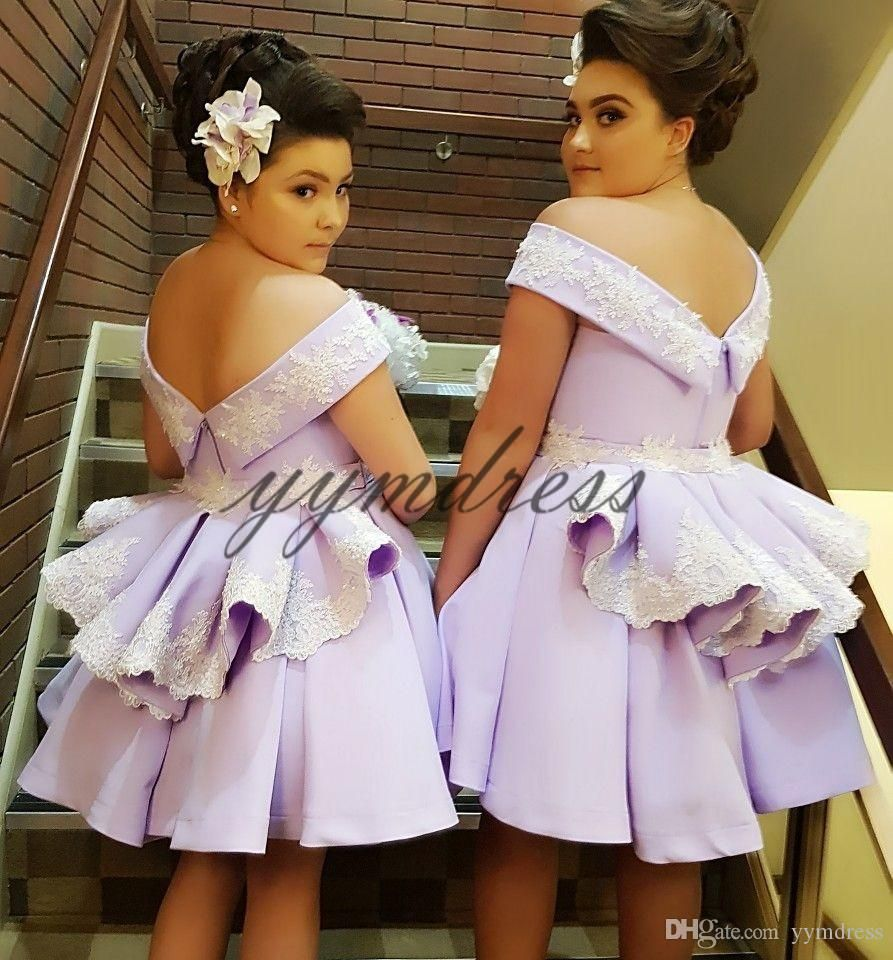 Lavender Short Bridesmaid Dresses 2019 Off Shoulder Sleeveless Zipper Black Prom Dresses Wedding Party Guest Gowns Vestito Da Sposa From Yymdress 68 35 Dhga Short Bridesmaid Dresses Lilac Bridesmaid Dresses Bridesmaid Dresses Plus Size [ 960 x 893 Pixel ]