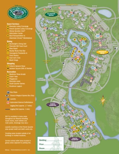 Port Orleans Riverside Resort Map Map Styles Pinterest