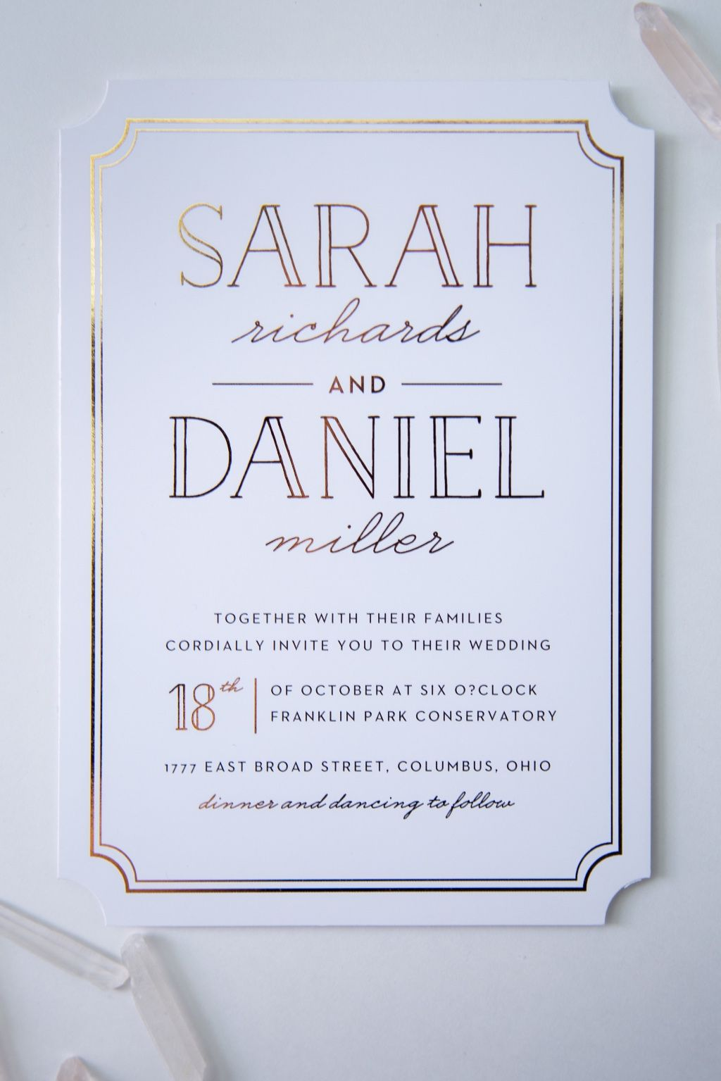 Basic Invite Wedding Invitation Paper And Weddings