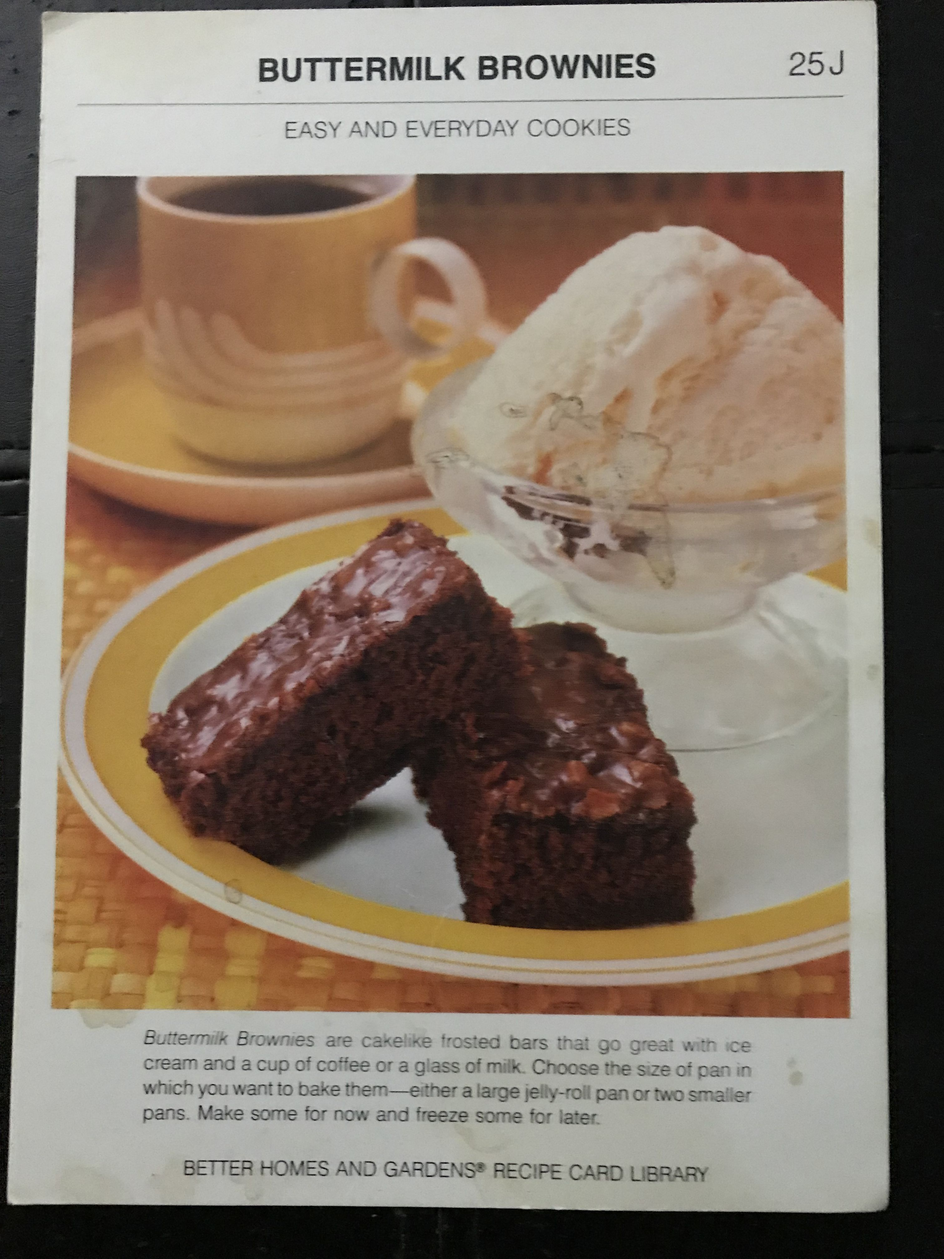 Pin By Angie Cillis On My Favorite Recipes Buttermilk Brownies
