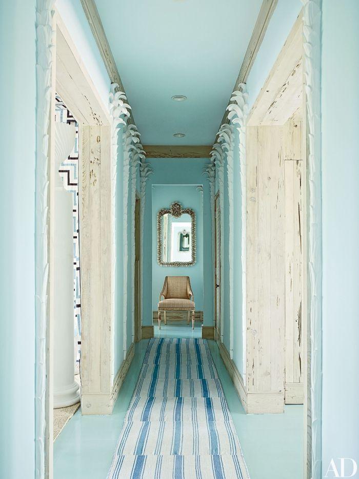 association de nuances claires pour idée peinture couloir et entrée ...