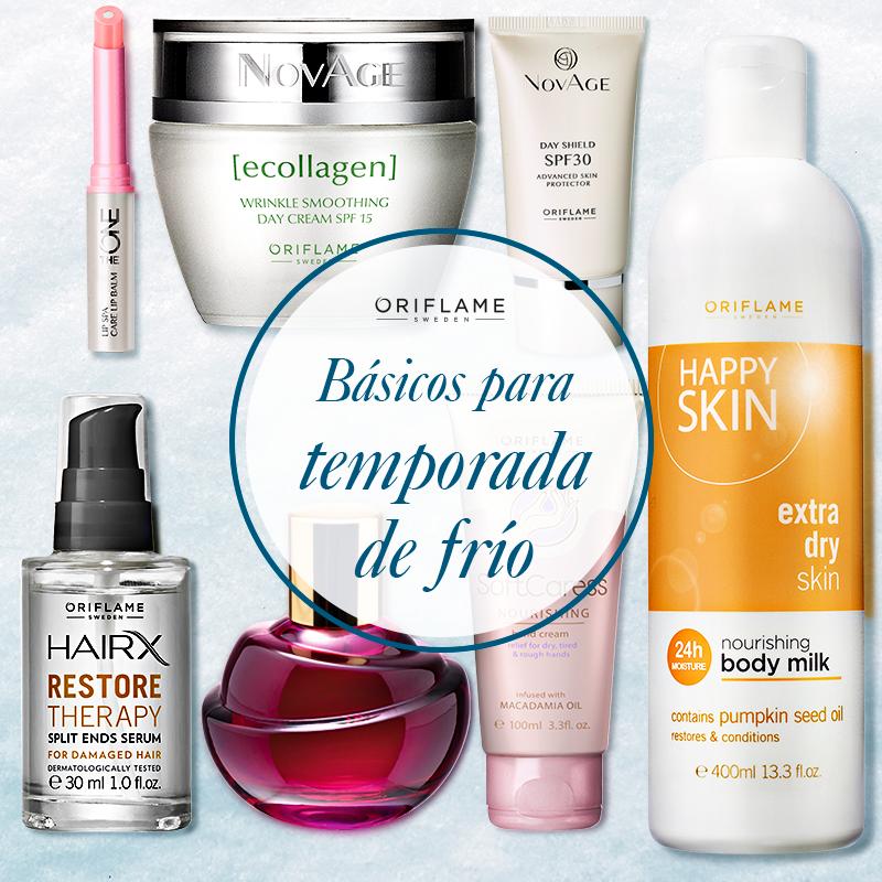 En esta temporada de temperaturas bajas, existen algunos básicos que no pueden faltar en tu cosmetiquera.