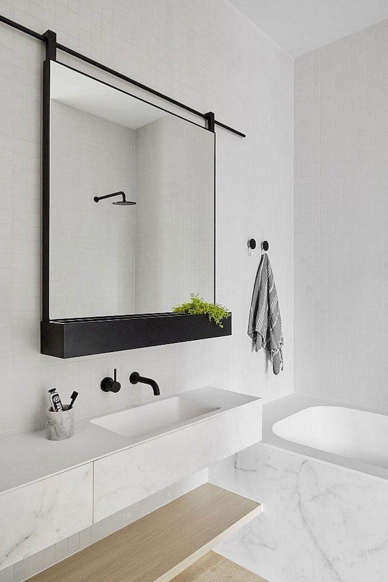 43 Minimalist Bathroom Design Ideas Matchness Com Minimalist Bathroom Design Small Apartment Bathroom Minimalist Bathroom