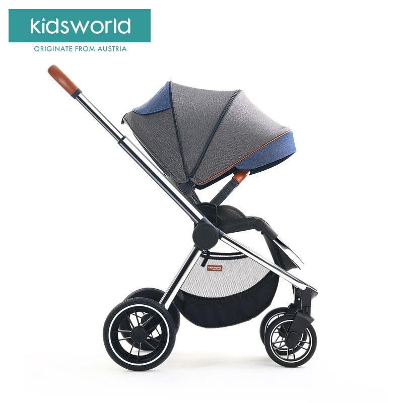 Babyfond Luxury baby stroller 2 in 1 high landscape