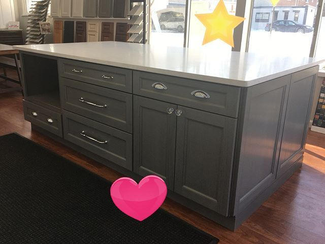 Best Our New Midtown Grey Cabinets With A Beautiful Mont 640 x 480