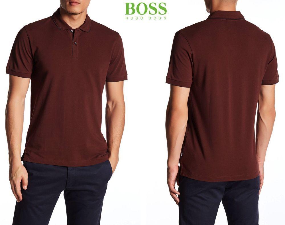 93d9725a Hugo Boss Parler Regular Fit Cotton Polo. Made in Peru.sz L
