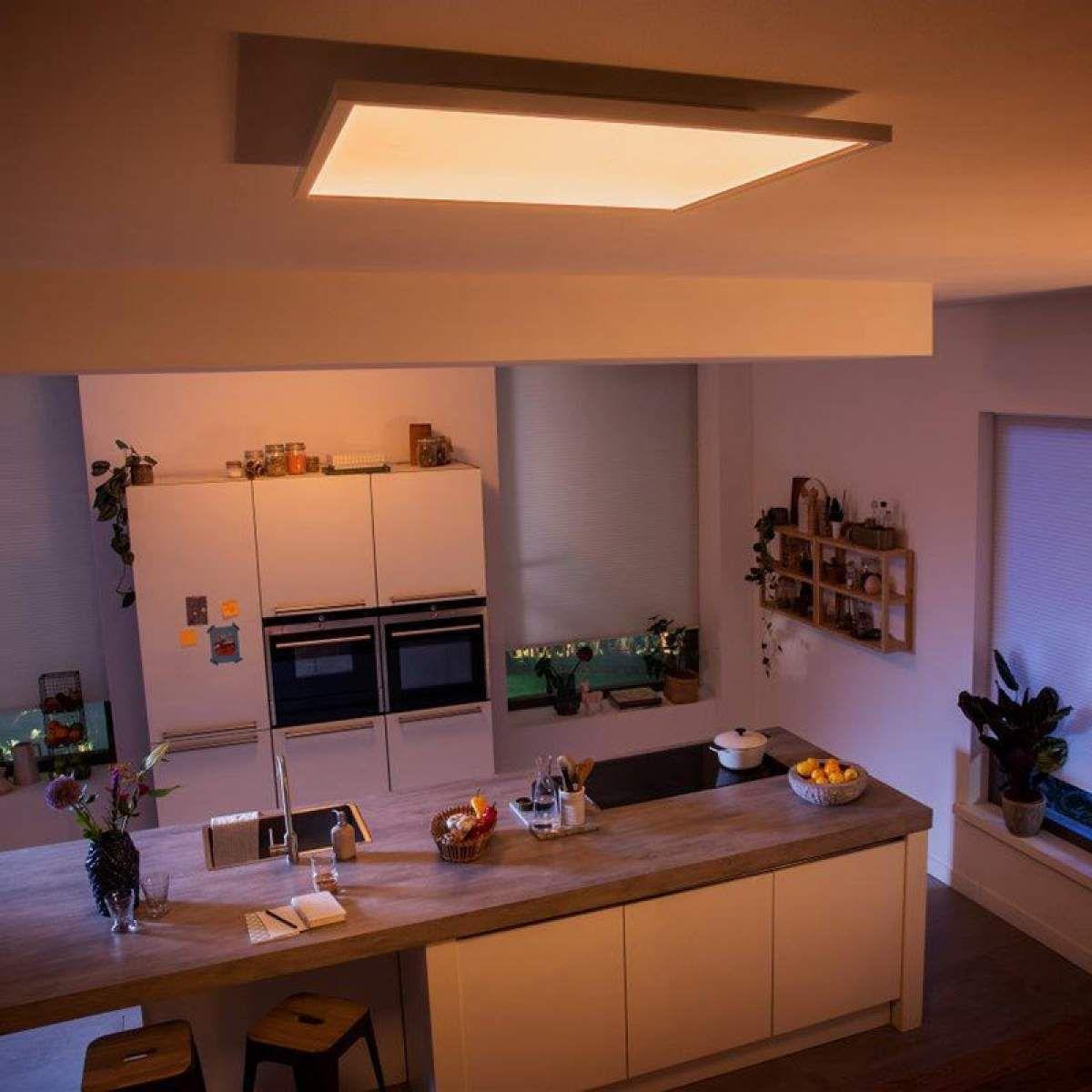 Philips Hue Aurelle Led Panel Eckig 60 X 60 Cm Led Panel Led Und Wohnungsbeleuchtung
