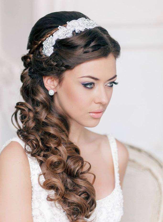 Foto acconciature sposa semiraccolto