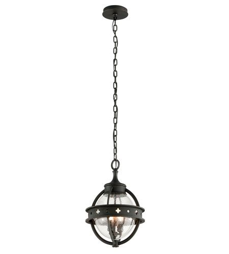 Mendocino 3 Light 12 Inch Forged Black Outdoor Hanging Lantern Outdoor Hanging Lights Outdoor Hanging Lanterns Outdoor Pendant