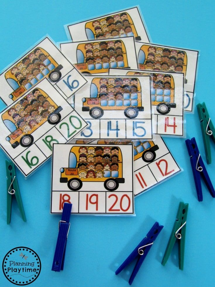 Numbers 11-20 Games | Counting activities, Activities and School