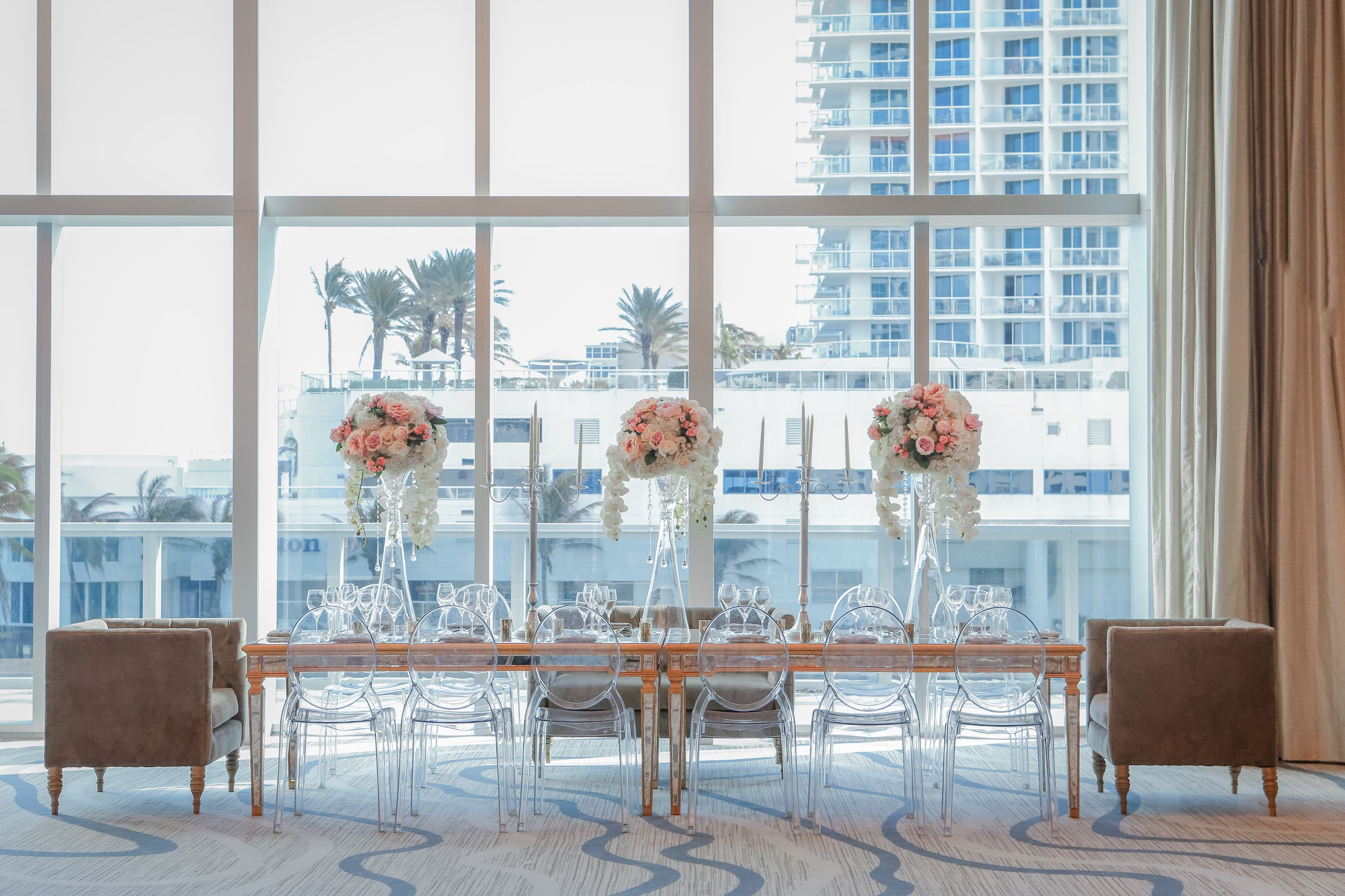 Head Table At The Conrad Hotel Fort Lauderdale Beach South Florida