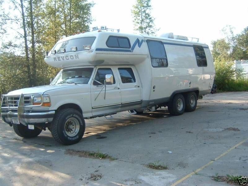 Ebay: 1994 REVCON TrailBlazer 4x4   Wheels   4x4 camper van