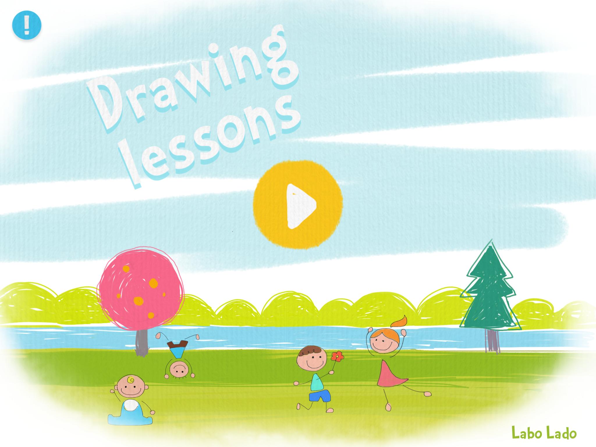 Apps Para Iniciarse En El Mundo Del Dibujo Ofrece 40 Disenos Para Dibujar Con Ayuda Drawing Lessons Disenos Para Dibujar Apps