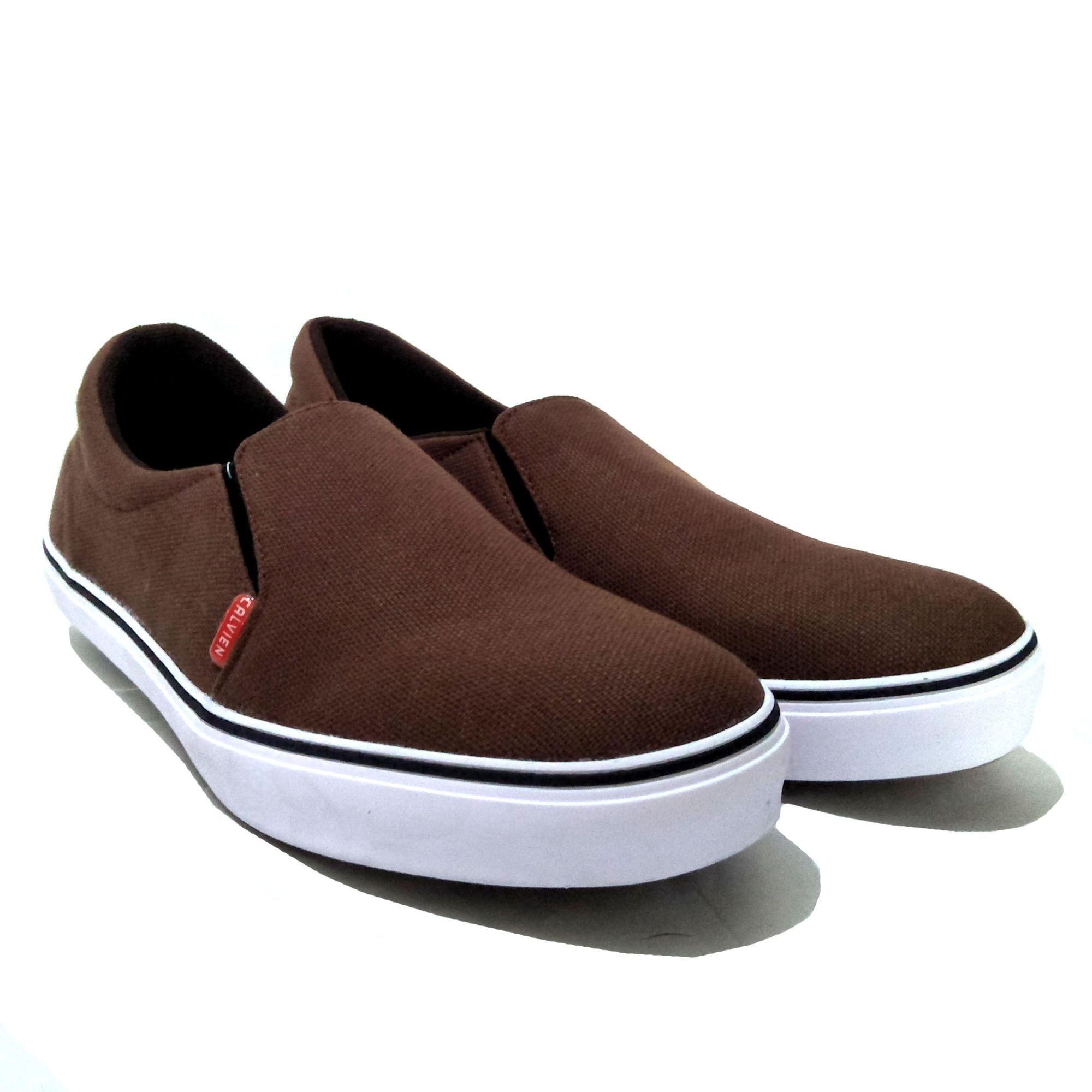 Calvien Sepatu Pria Slip Sepatu Pria Sneakers Sepatu Pria Kasual Sepatu Pria Murah Kode CL 06