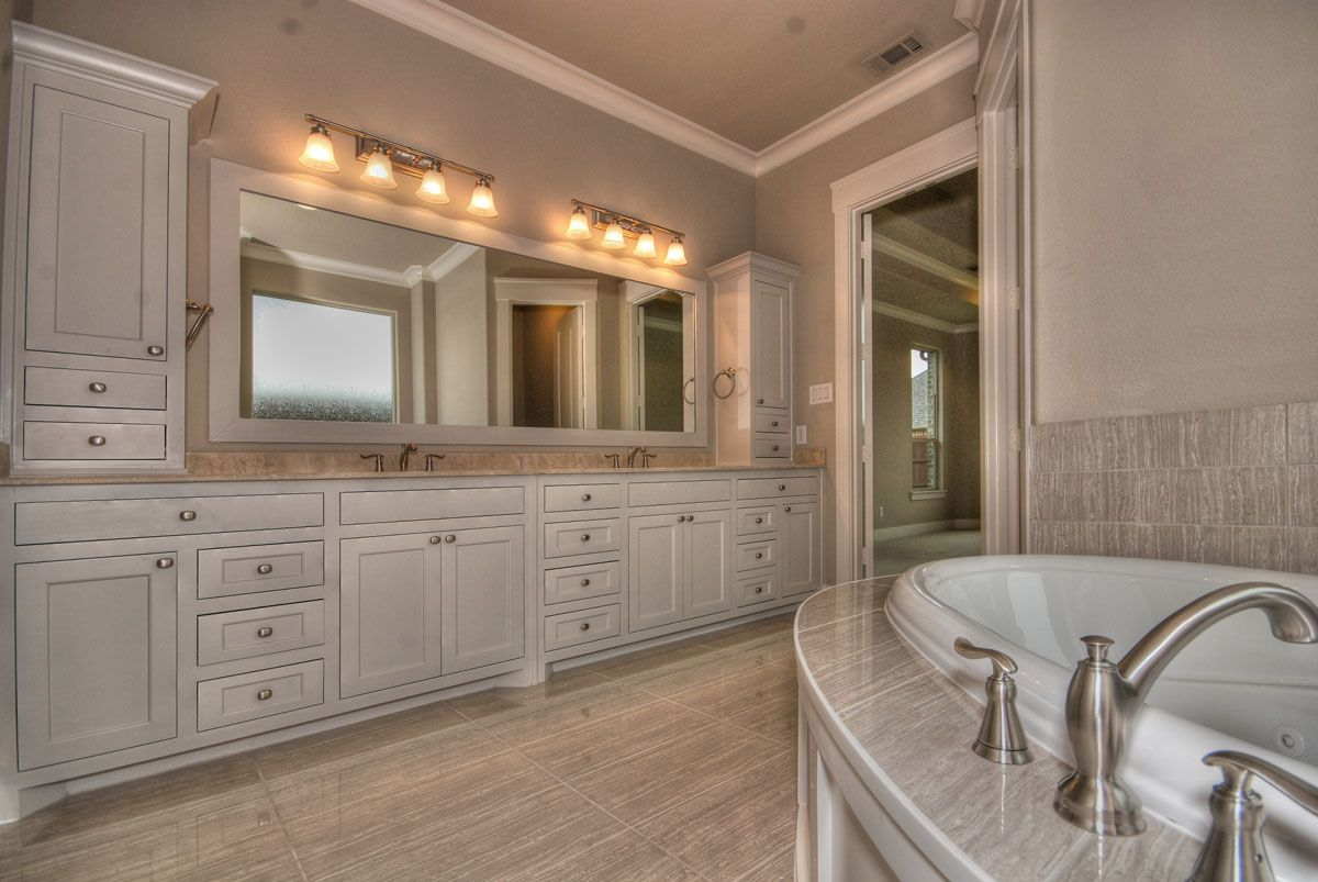 Master Bathroom Cabinet Designs