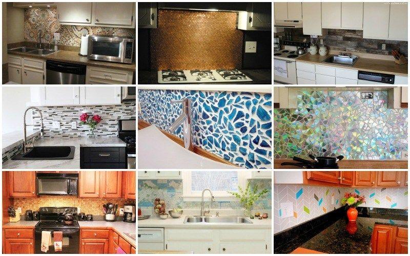 Fresh 15 easy to make diy kitchen backsplash ideas you need to see from Diy Backsplash Kitchen Trending - Simple Elegant Diy Tile Backsplash Fresh