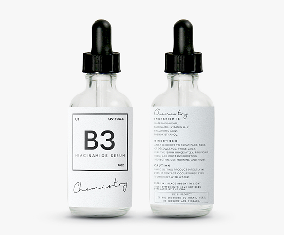 B3 cosmetics & beauty product label design | Containers | Pinterest ...