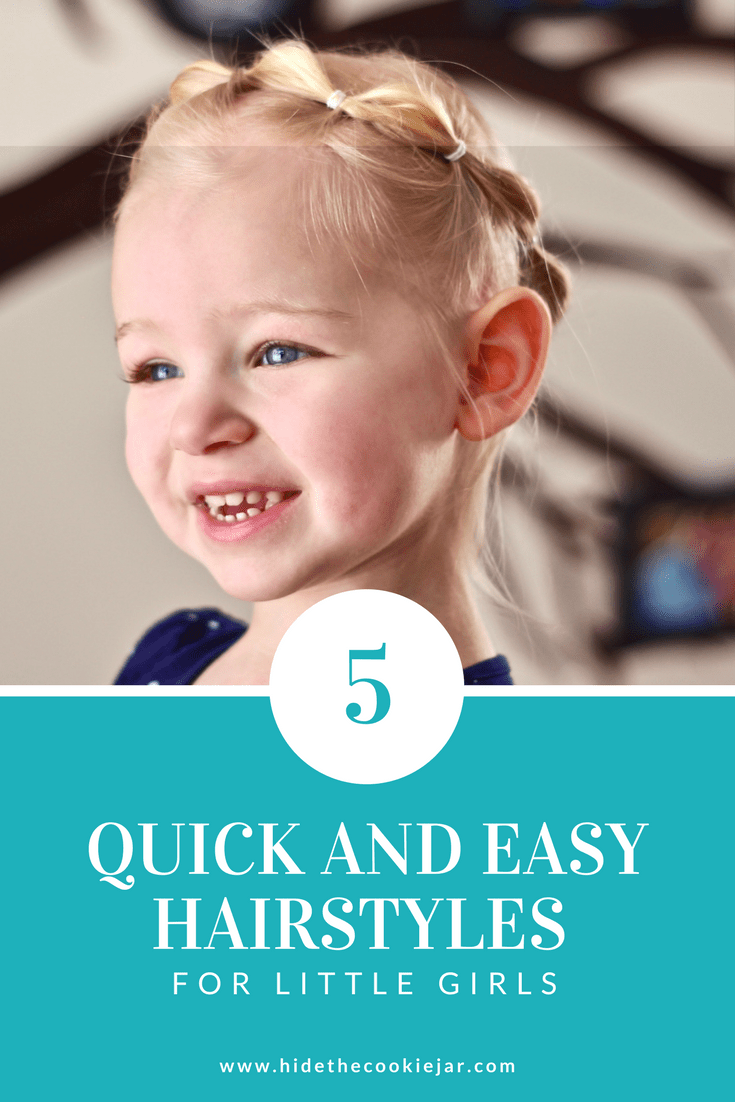 quick and easy hairstyles for little girls in toddler hair
