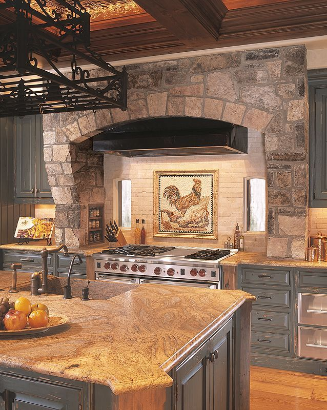 Old Italian Tuscan Kitchen Decor