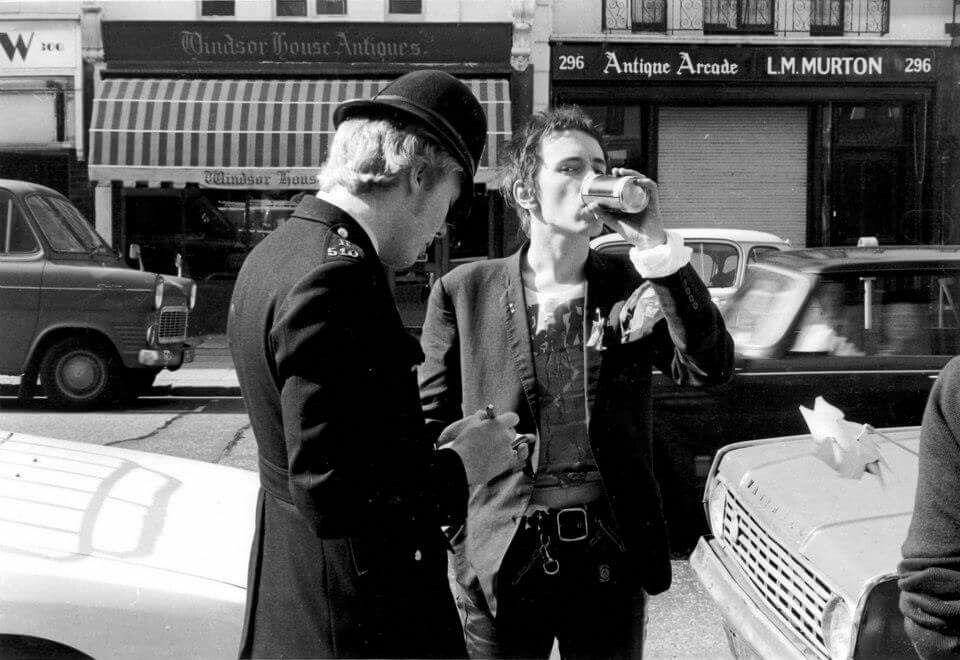 Johnny Rotten Sex Pistols