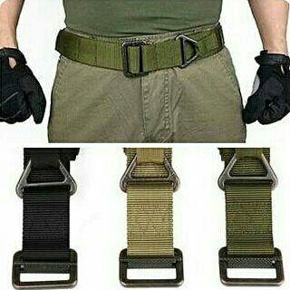 Pakai celana tactical belum lengkap tanpa belt-nya