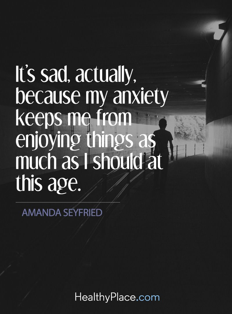 Quotes on Anxiety Quotes Pinterest