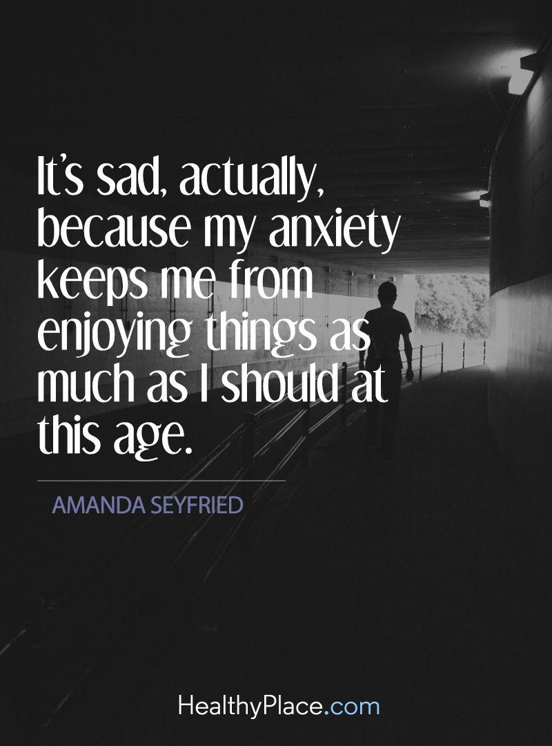 In hoeverre een angststoornis mijn leven beheerste.
