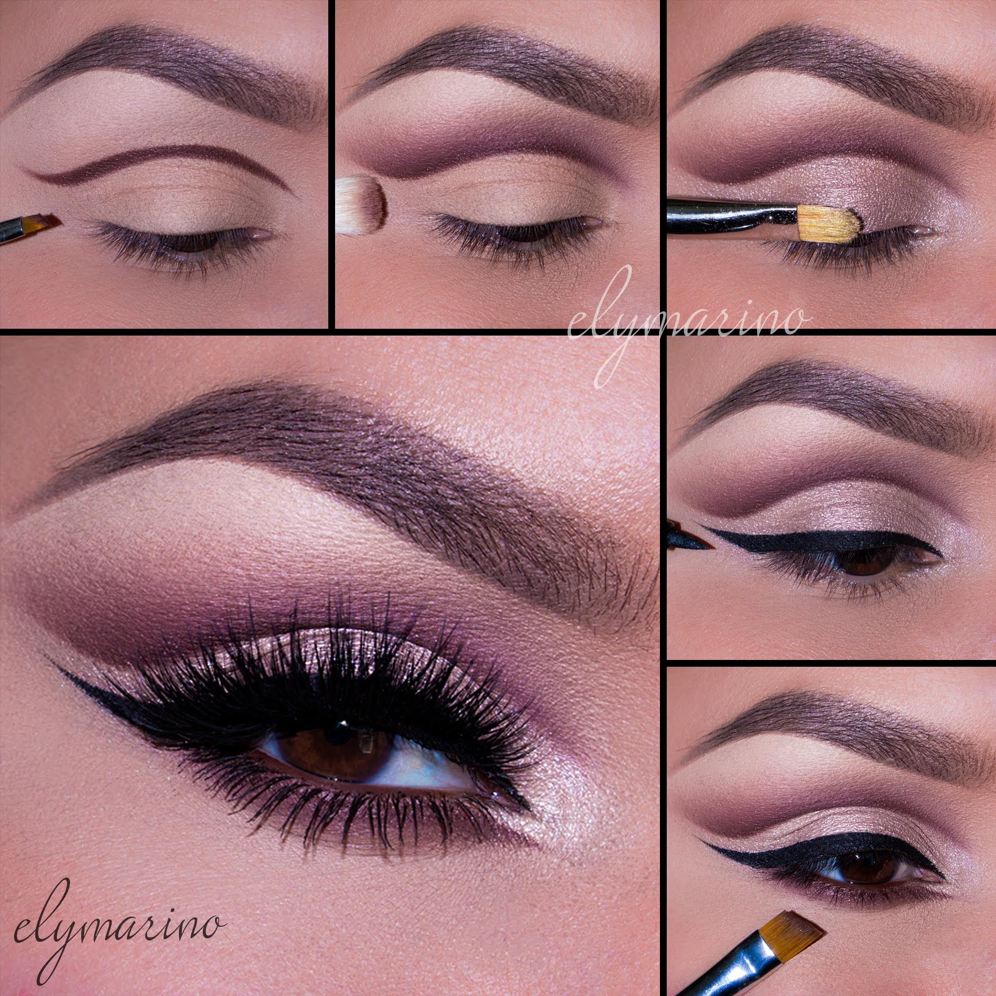 Get the look using the Third Edition 120 Color Eyeshadow Palette