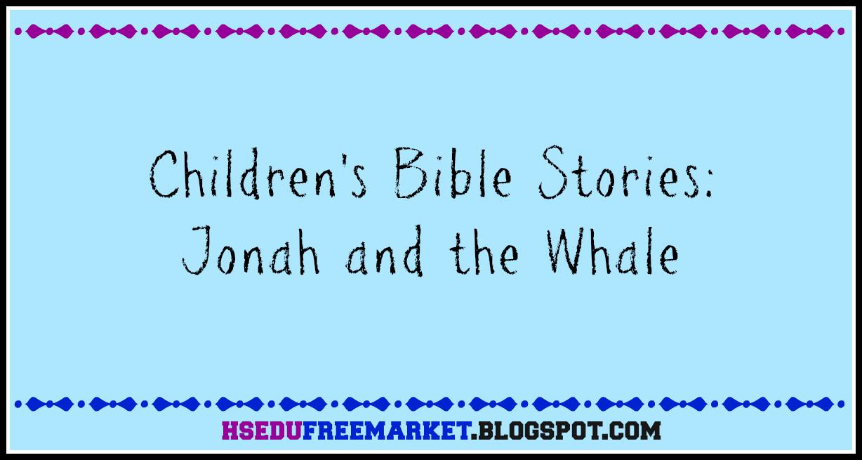 children u0027s bible stories jonah and the whale hsedufreemarket
