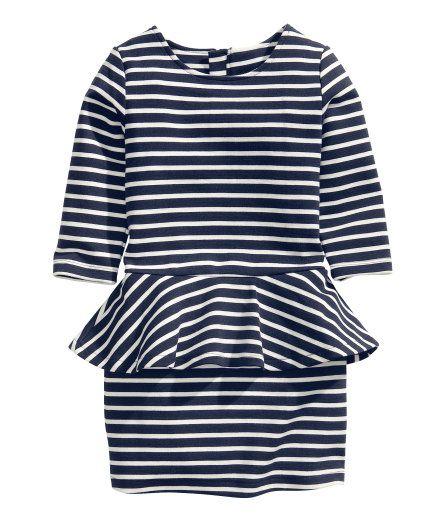 H & M peplum dress