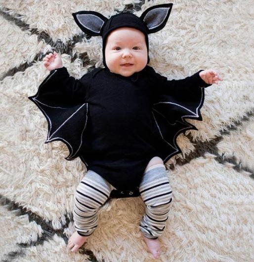 Bat Wing Romper Costume