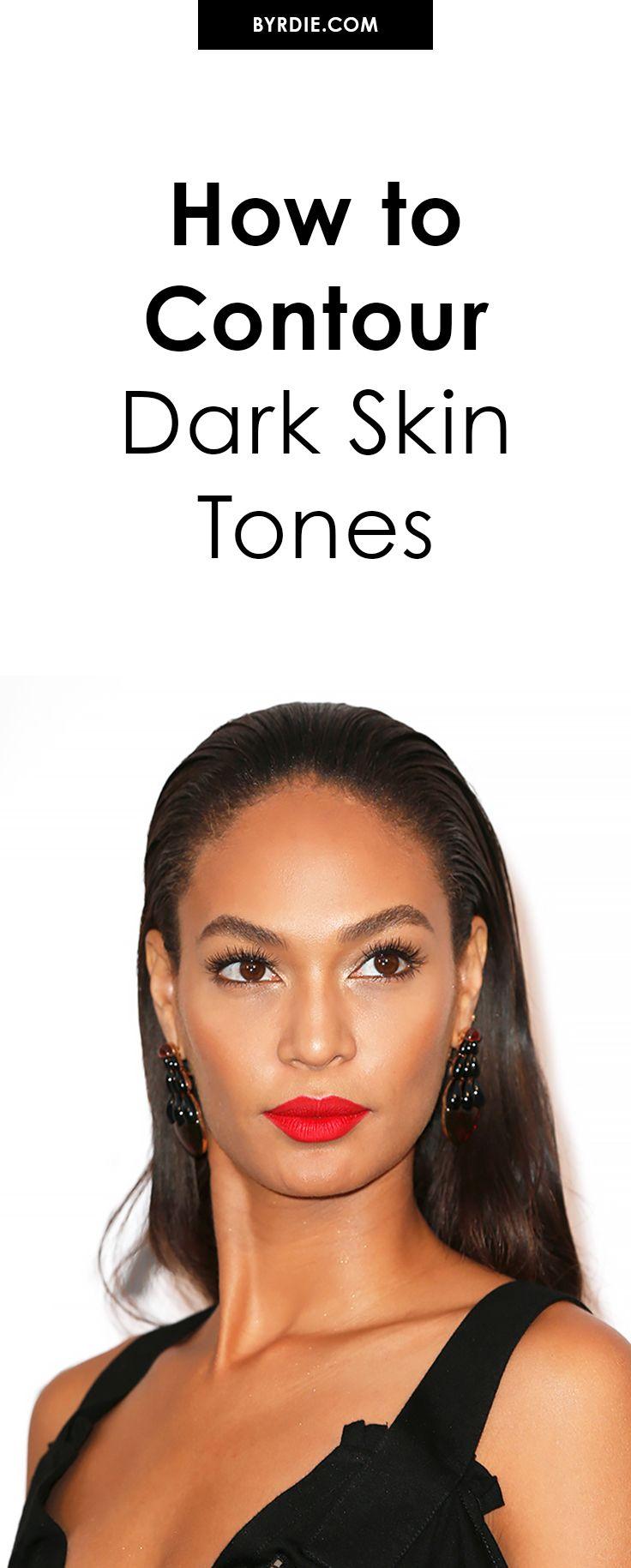 How to Contour Dark Skin Tones A Top Makeup Artist Spills