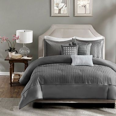 jcpenney.com | Madison Park Curtis 6-pc. Duvet Set | Room & house ...