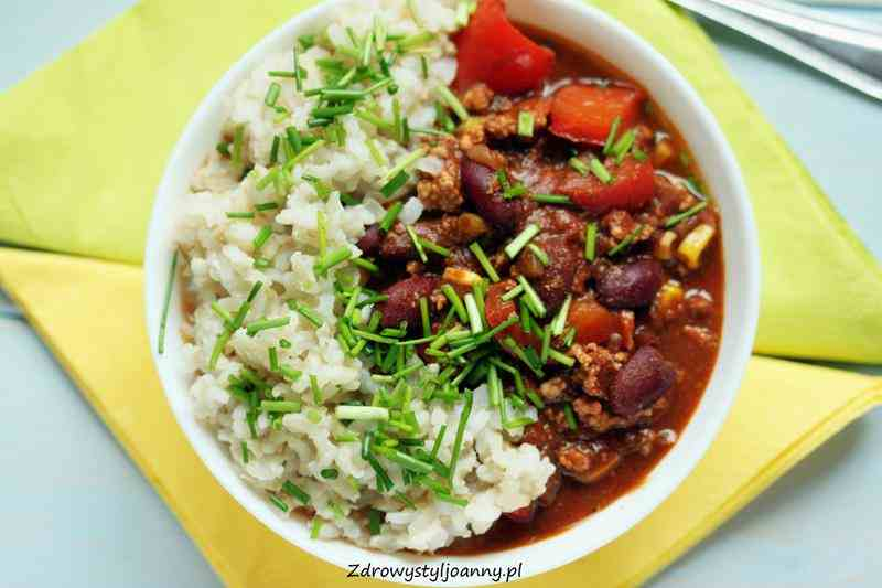 Chili Con Carne Chili Z Miesem Mielonym Kuchnia Meksykanska Meat Food Beef