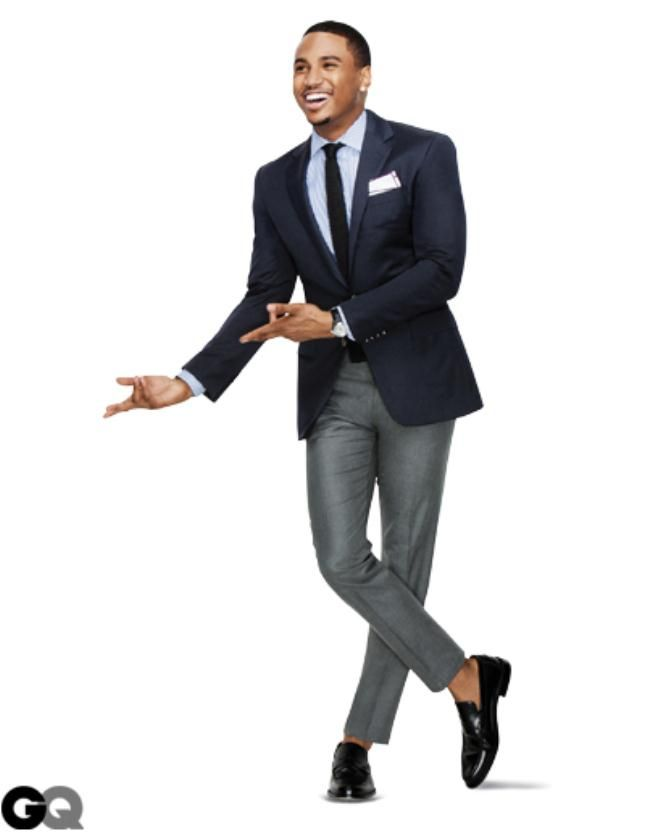 How To Wear Gray Pants A Gray Trouser Can Be Paired With A Navy