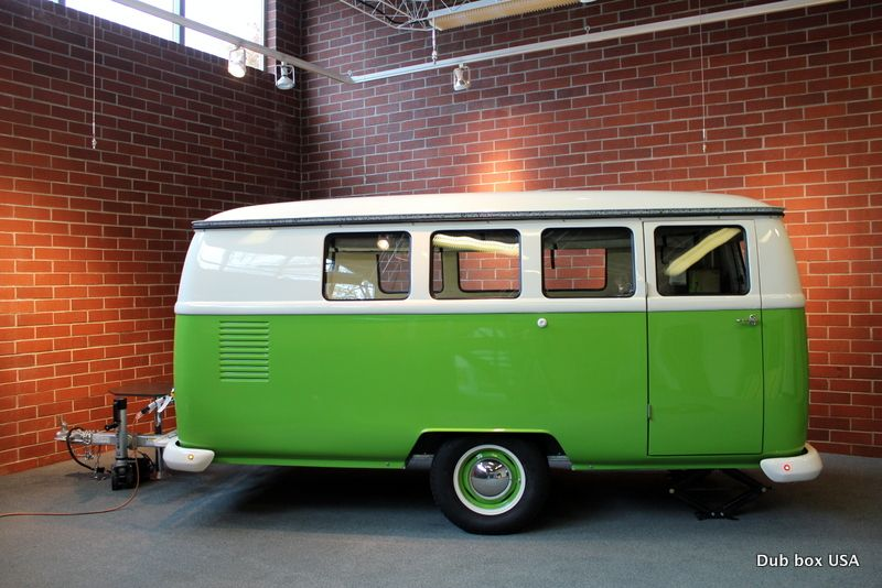 Dub Box VW Bus Inspired Camper With A DIY Option All The Benefits Of Without Fuss