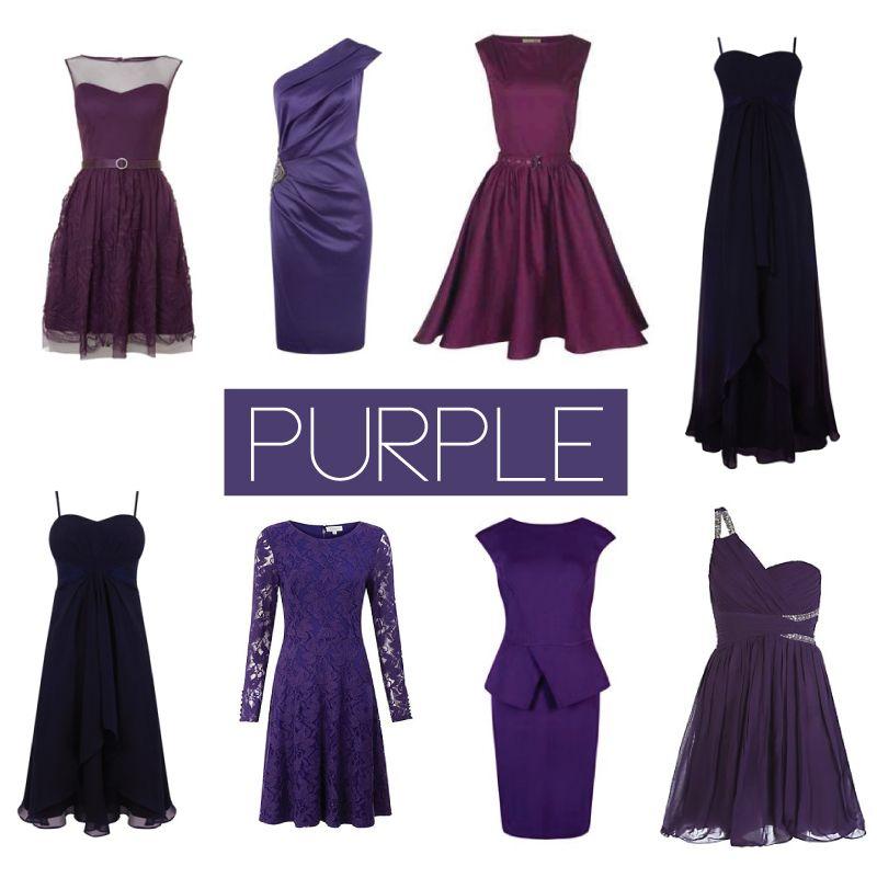 Bride Bubble bridesmaid dress inspiration in various shades of ...