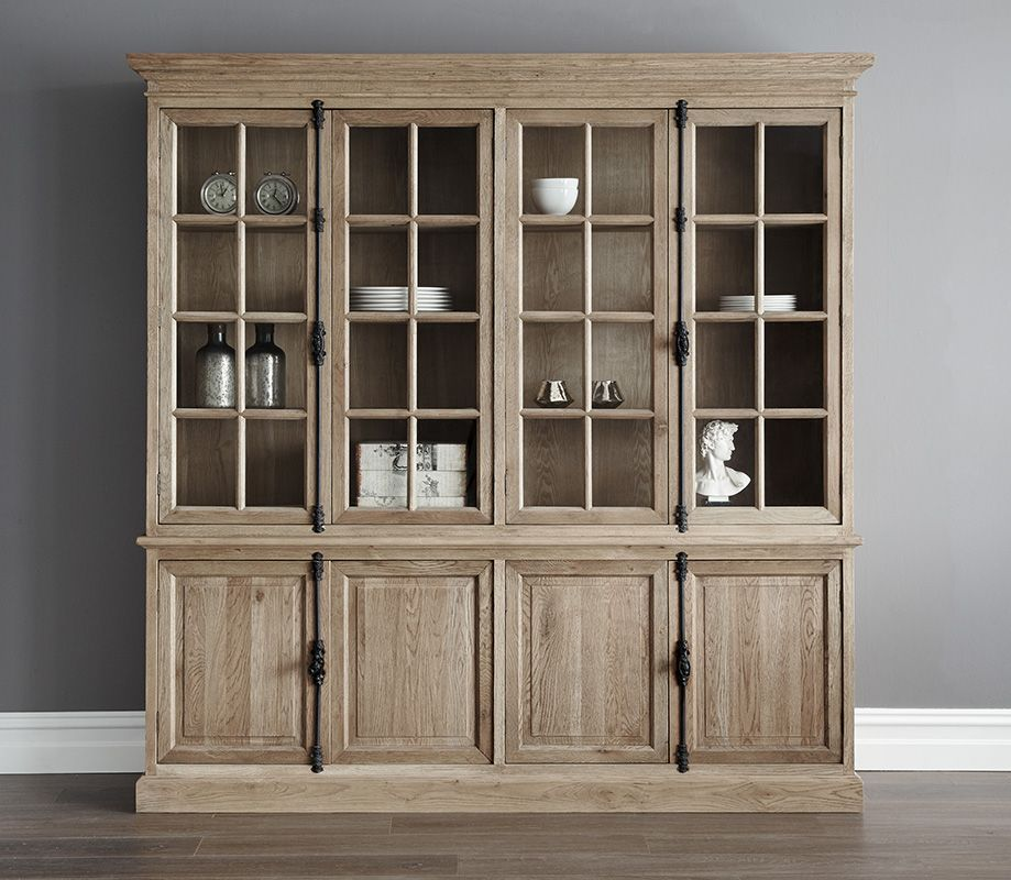 Gable Oak Cabinet Quad By Melbourne S Luxury Furnishings