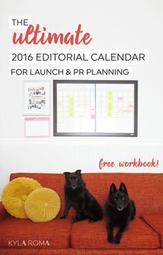 Ultimate Editorial Calendar For Bloggers  Small Business