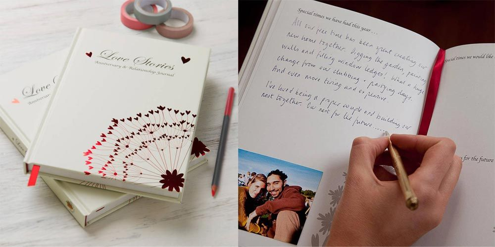 First Wedding Anniversary Gift Guide Paper Ideas