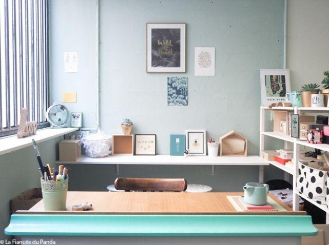 bureau la fiancee du panda pretty desk pinterest fiancee bureaus and desks. Black Bedroom Furniture Sets. Home Design Ideas